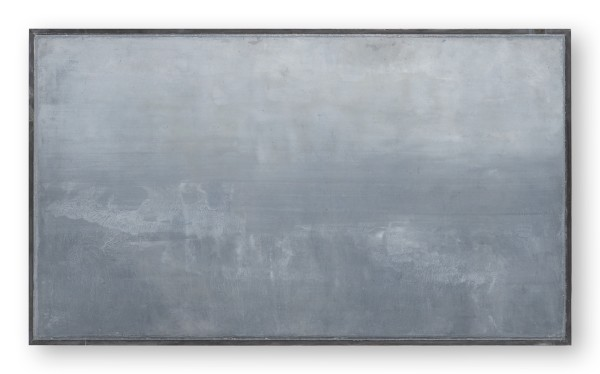 Katsuhito Nishikawa #021987 Hombroich / Auenlandschaft, 2009 Öl und Enkaustik auf Leinwand, gerahmt H. 38 x 65 cm
