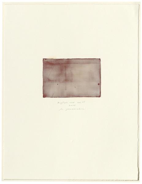 Hideaki Yamanobe, #015075 English red No. 25, 2005
