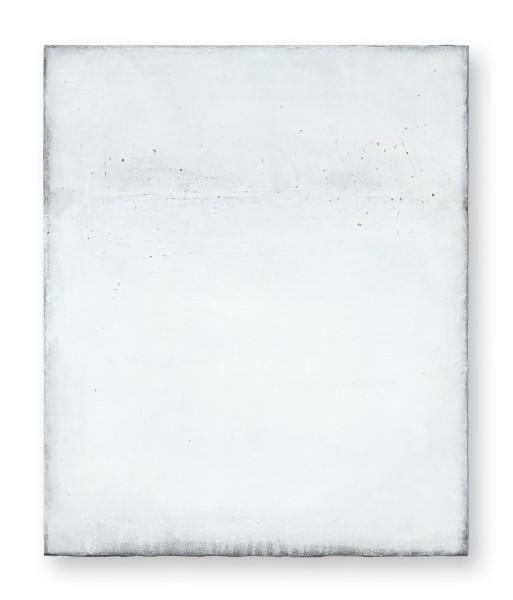Hideaki Yamanobe #022211 White Sound - Score 1, 2020 Acryl auf Nessel 54,5 x 45 x 4 cm