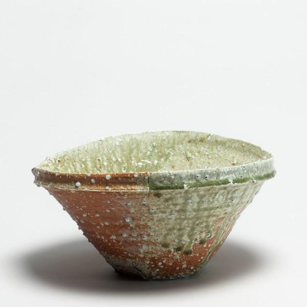 Shiro Tsujimura, #000283 Schale mit Ausguß (katakuchi), iga-Typ, 1992