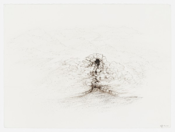 Raffi Kaiser, #021666 Landschaft, um 2017