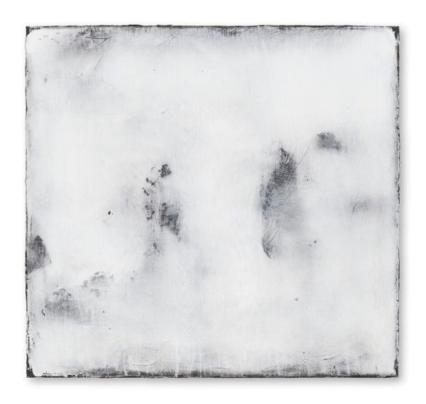 """Hideaki Yamanobe #021817 """"Daylight 2015 December-4"""", 2015 Acrylic on nettle 75 x 80 x 4 cm"""