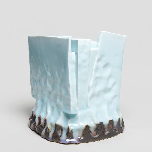 Masamichi Yoshikawa #021925 Kayho (Luxuriant pottery palace), 2019 Porzellan mit Seihakuji-Glasur 27 x 27 x 26,5 cm
