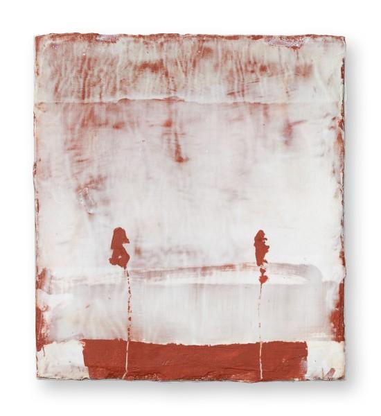 Hideaki Yamanobe #022221 Horizon 2020 S-4, 2020 Acryl auf Papier auf Holz 20 x 18 x 5 cm