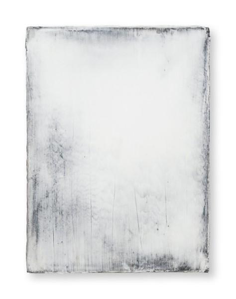Hideaki Yamanobe #021820 Daylight white 2018-4, 2018 Acrylic on nettle 40 x 30 x 3,5 cm