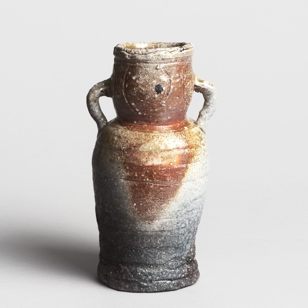 Chûroku IV, #004927 Ko-iga-hanaire - Blumenvase im Iga-Stil