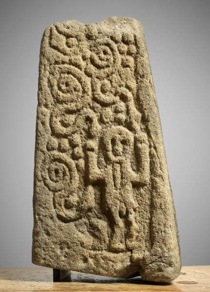 Early Stone Carving The Masham Cross (fragment) English 9th Century