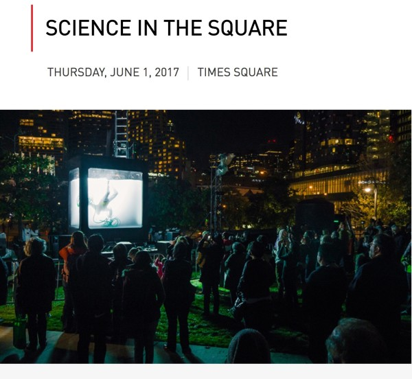 World Science Festival - In Times Square