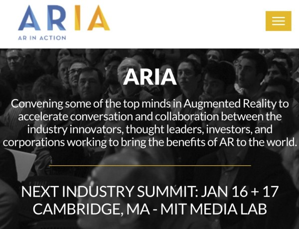The AR in Action Industry Summit @ MIT Media Lab