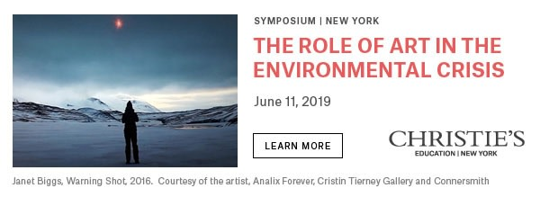 The Role of Art in the Environmental Crisis
