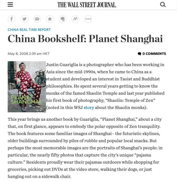 China Bookshelf: Planet Shanghai