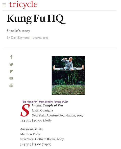 Kung Fu HQ: Shaolin's Story