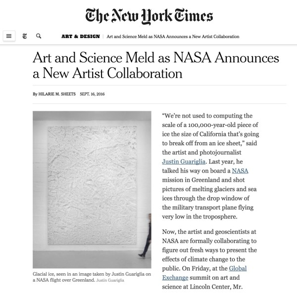 Art and Science Meld as NASA Announces a New Artist Collaboration