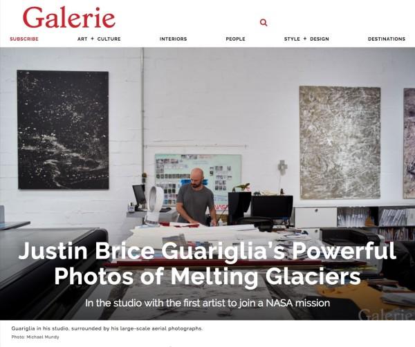 Justin Brice Guariglia's Powerful Photos of Melting Glaciers
