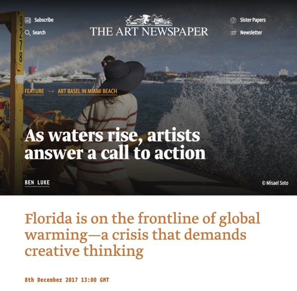 As waters rise, artists answer a call to action