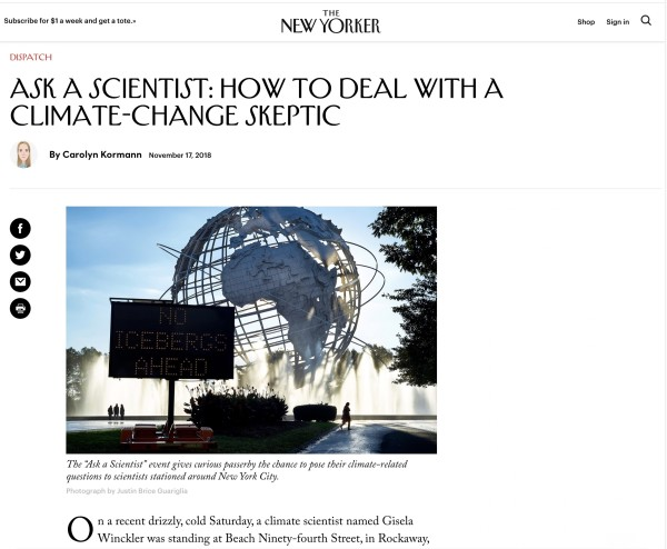 Ask a Scientist: How to Deal with a Climate-Change Skeptic