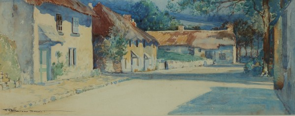 ROBERT BORLASE SMART, VILLAGE STREET