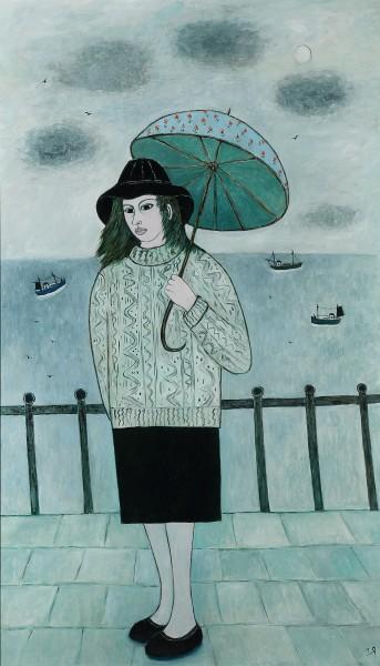 Joan GILLCHREST, LIGHT SHOWER AT PENZANCE