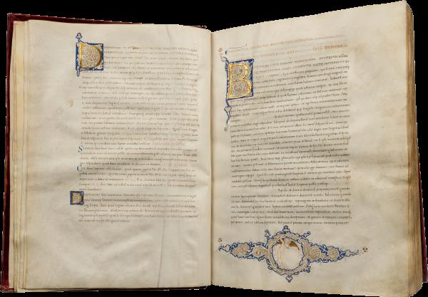 Latin Vulgate , c  1260-1275 | Les Enluminures