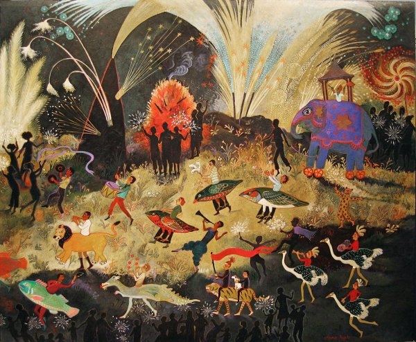 Anna Pugh, Party Time, 2010