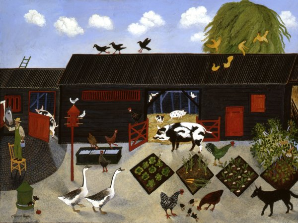 Anna Pugh, Bean Picking, 2004