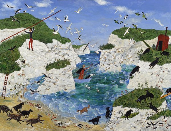 Anna Pugh, David's Day Off, 2013