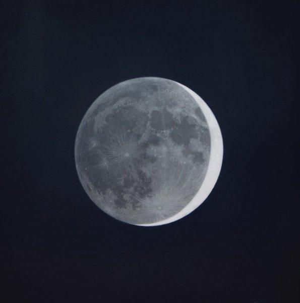 Guillermo Muñoz Vera, Waxing Cresent Moon, 2013
