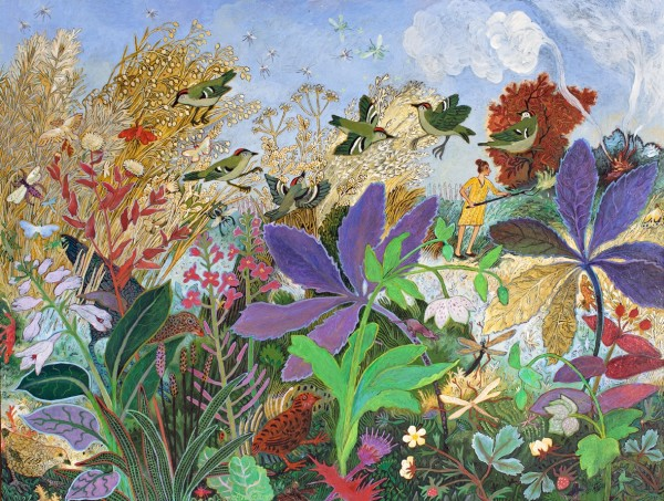 Anna Pugh, Burning Off, 2014