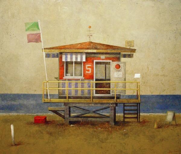 Manuel López Herrera, Beach House I, 2016