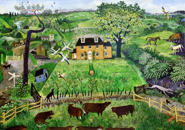 Anna Pugh, Ceder Cottage (Commission), 2016