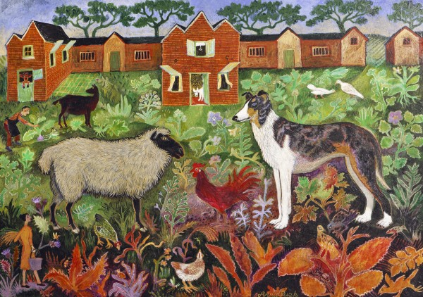 Anna Pugh, Red Rooster, 2019