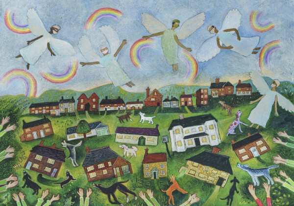 Anna Pugh, Clapping For The Angels, 2021