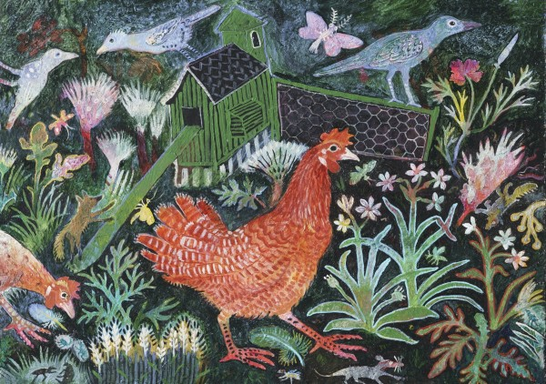Anna Pugh, Red Hen Run, 2018