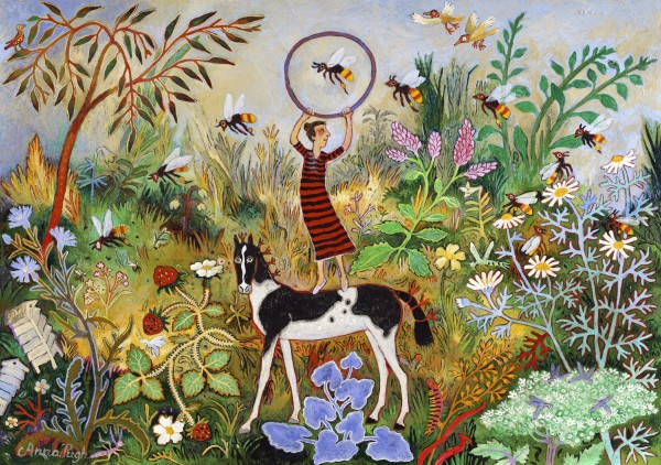 Anna Pugh, Training the Bees, 2018