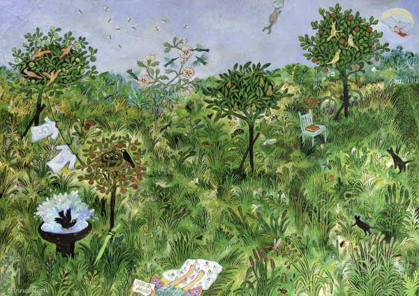 Anna Pugh, A Happy Place For George & Dean & Phoebe, 2021