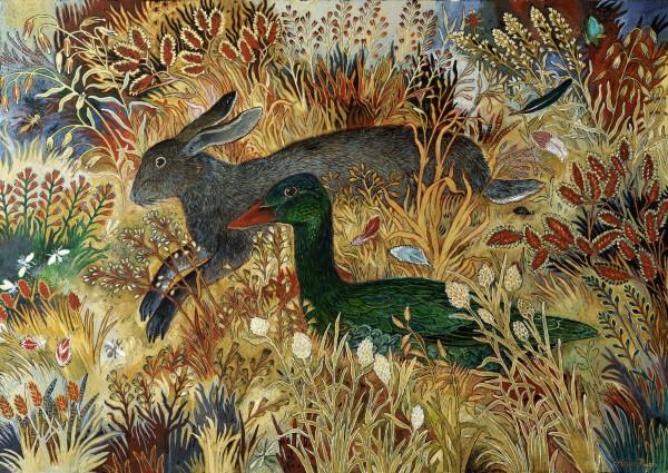Anna Pugh, Rabbit Duck, 2020