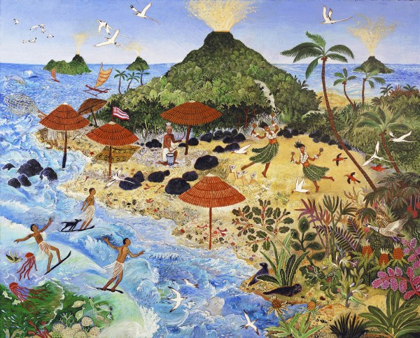 Anna Pugh, Surf Ryders (Commission), 2017