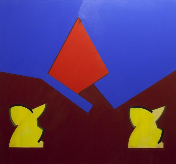 Nancy Milner, Cat and Dog, 2013