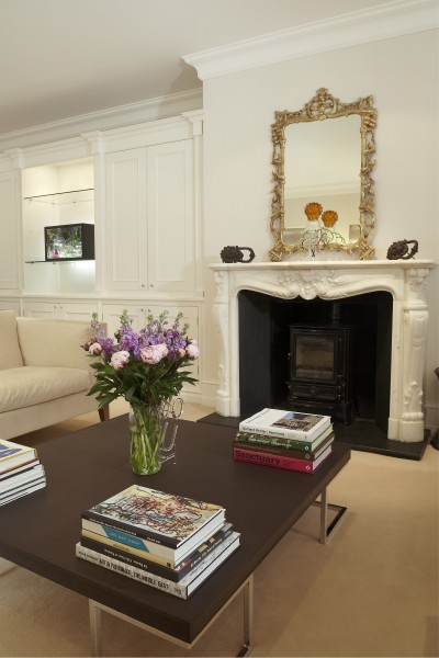 Helen Brough (on shelf) and Richard Healy (on table and mantle)