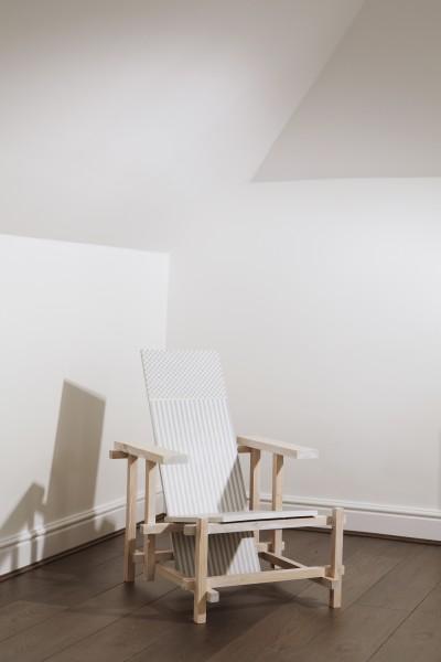 Vanessa Hodgkinson, Helen Pissing On A Chair, 2012