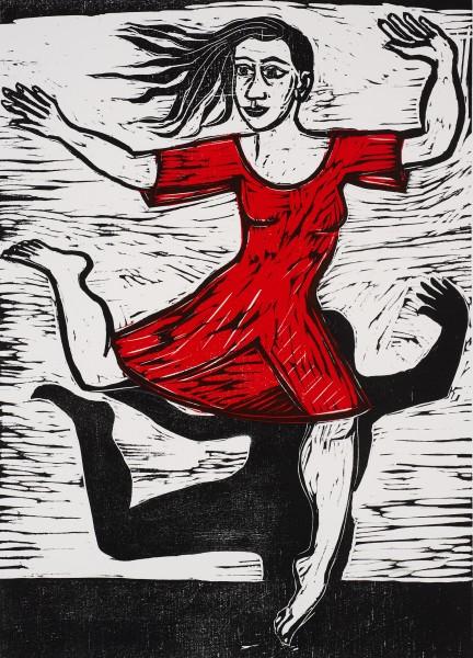 Eileen Cooper, Barefoot Duet, 2011