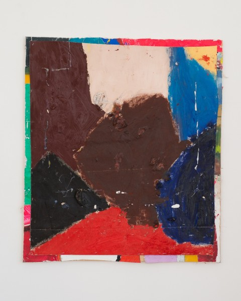 Bobby Dowler, Painting-Object_(10.01.13), 2013
