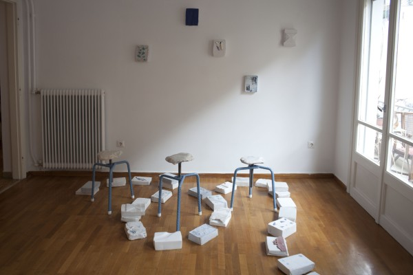 Sofia Stevi and Greece is for Lovers (stools)