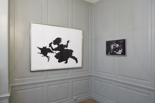 Kara Walker (left) and Margarita Gluzberg (right)