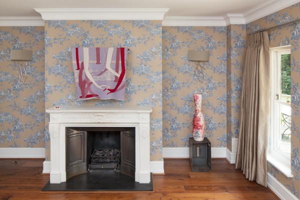 Bea Bonafini (textile work) and Linday Lawson (ceramic work)