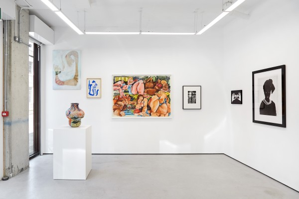 From left: Chelsea Culprit (painting); Rafaela de Ascanio (sculpture); Lisa Brice (work on paper); Cristina BanBan (work on paper); Hannah Wilke (photograph); Sophie Thun (photograph); Zanele Muholi (photograph)