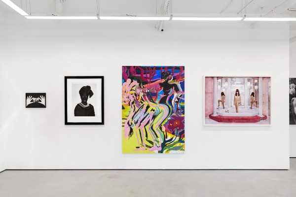 From left: Sophie Thun (photograph); Zanele Muholi (photograph); Mira Dancy (painting); Juno Calypso (photograph)