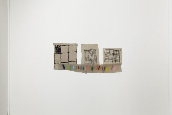 Annie Morris, Squares with Colour, 2014