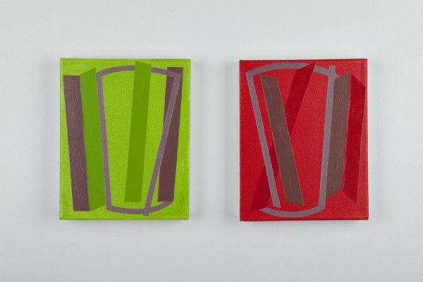 Vanessa Jackson, Spring Note IX and X 2012, 2012