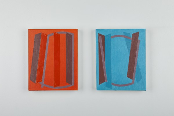 Vanessa Jackson, Spring Note VI and VIII 2012, 2012